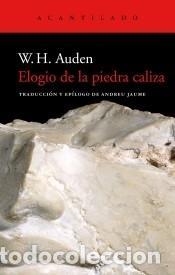 ELOGIO DE LA PIEDRA CALIZA (Libros Nuevos - Literatura - Poesía)