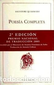 POESÍA COMPLETA (Libros Nuevos - Literatura - Poesía)