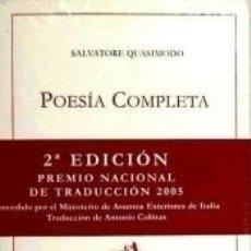 Libros: POESÍA COMPLETA. Lote 234867710