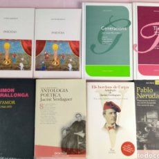 Libros: POESÍAS 8 LIBROS DE POEMAS EN CATALÁN. Lote 236311820