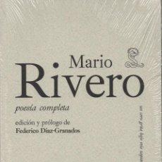 Libros: MARIO RIVERO.POESÍA COMPLETA. SIBILA. 2009. NUEVO.. Lote 236321445