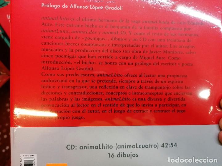 Libros: AnimaLhito, de Luis Eduardo Aute. Nuevo - Foto 3 - 237015820