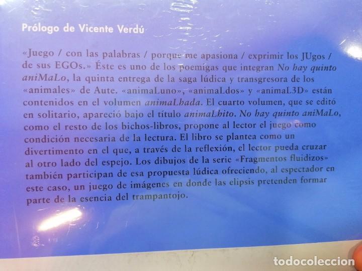 Libros: No hay quinto AnimaLho, de Luis Eduardo Aute. Nuevo - Foto 2 - 237016210