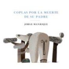 Libros: COPLAS POR LA MUERTE DE SU PADRE. Lote 237521560