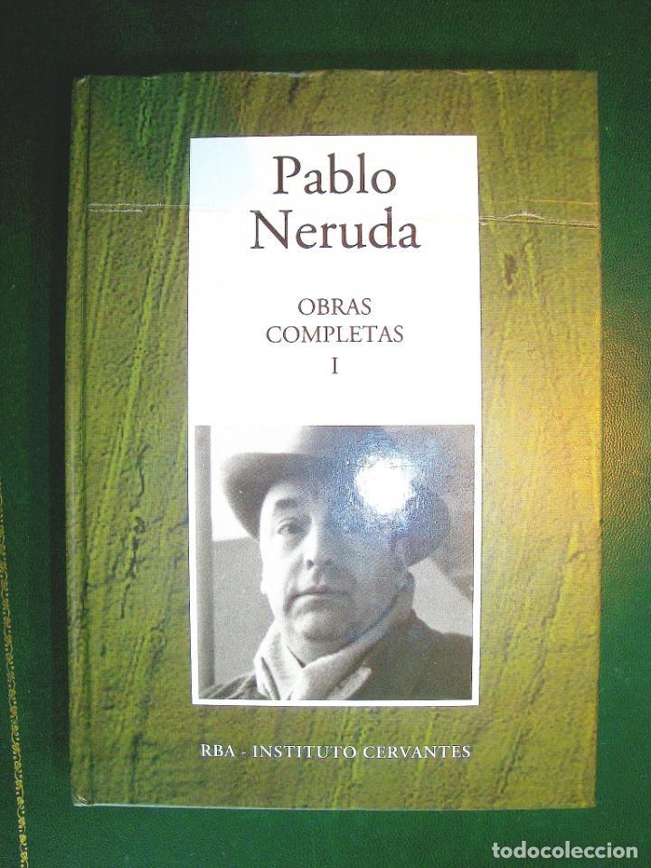 NERUDA - OBRAS COMPLETAS I (Libros Nuevos - Literatura - Poesía)