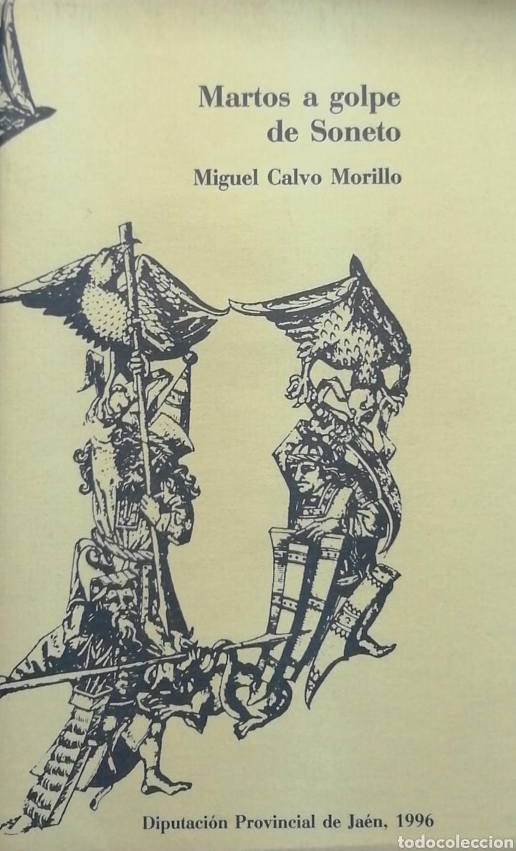 MARTOS A GOLPE DE SONETO. MIGUEL CALVO MORILLO (Libros Nuevos - Literatura - Poesía)