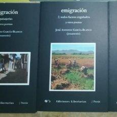 Libros: EMIGRACION 1,2 3 - JOSE ANTONIO GARCIA-BLANCO JOSS ANTONIO. Lote 242226825