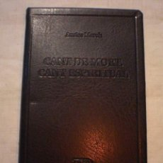 Libros: CANT DE MORT. CANT ESPIRITUAL MARCH, AUSIÀS. Lote 243470955
