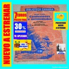 Libros: BIBLIOTECA CANARIA - POETAS ISLEÑOS - DIEGO CROSA - CONFESIONES E INTIMIDADES - MARCIAL MORERA. Lote 243595020