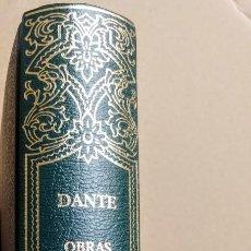 Libros: DANTE.OBRAS COMPLETAS 1.LA DIVINA COMEDIA.GUSTAVO DORE. Lote 244614890
