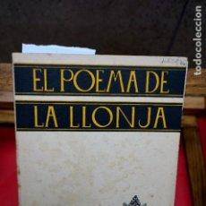 Libros: M. THOUS LLORENS.EL POEMA DE LA LLONJA. Lote 245570575