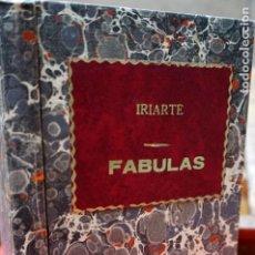 Libros: TOMAS DE IRIARTE.FABULAS LITERARIAS. Lote 245597045