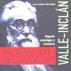 Libros: EPISTOLARIO DE VALLE-INCLÁN. Lote 245746380