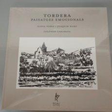 Libros: LIBRO TORDERA PAISATGES EMOCIONALS POEMES ELENA SERRA I JOAQUIM HARO NUEVO PRECINTADO RIGAU EDITORS. Lote 246152540