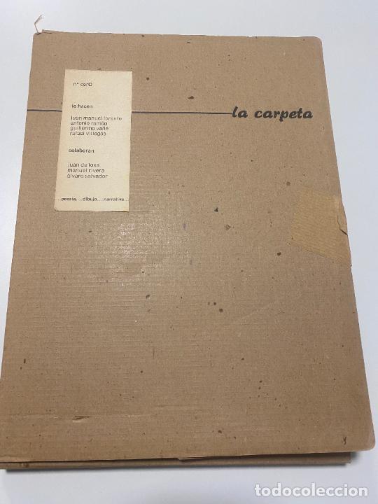 POESIA ANDALUZA , LA CARPETA N. CERO , MANUEL RIVERA , GRANADA 1982 , ED. LIMITADA (Libros Nuevos - Literatura - Poesía)