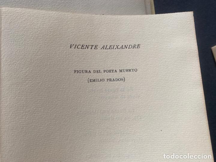 Libros: HOMENAJE EMILIO PRADOS , ANGEL CAFFARENA , EDITOR , MÁLAGA , ED. LIMITADA , 1964 . POESIA - Foto 11 - 251808830