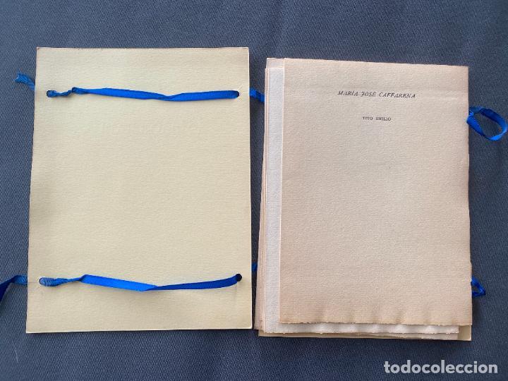 Libros: HOMENAJE EMILIO PRADOS , ANGEL CAFFARENA , EDITOR , MÁLAGA , ED. LIMITADA , 1964 . POESIA - Foto 12 - 251808830