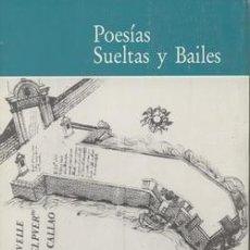 Libros: POESÍAS SUELTAS Y BAILES. LUIS GARCÍA-ABRINES CALVO. Lote 253980940