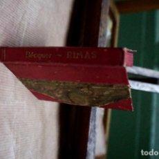 Libros: BECQUER GUSTAVO ADOLFO.RIMAS. Lote 254367480