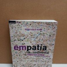 Libros: ANTONIO GARCIA BERTO - EMPATIA LA POÉTICA SENTIMENTAL DE F. BRINES. Lote 254945605