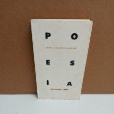 Libros: LUCIA SÁNCHEZ - POESÍA. Lote 254949070