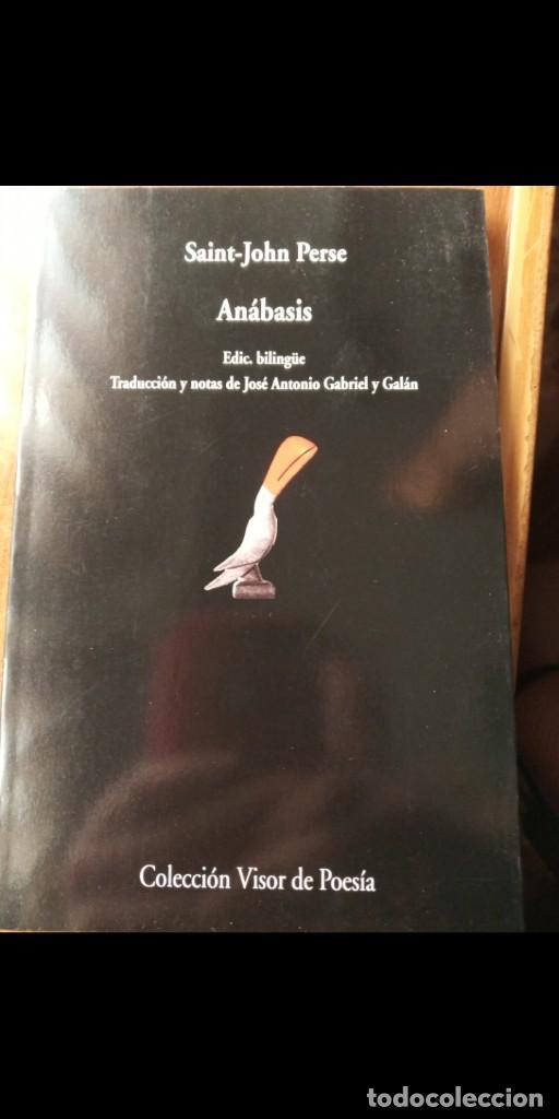 ANABASIS. SAINT-JOHN PERSE (VISOR) (Libros Nuevos - Literatura - Poesía)