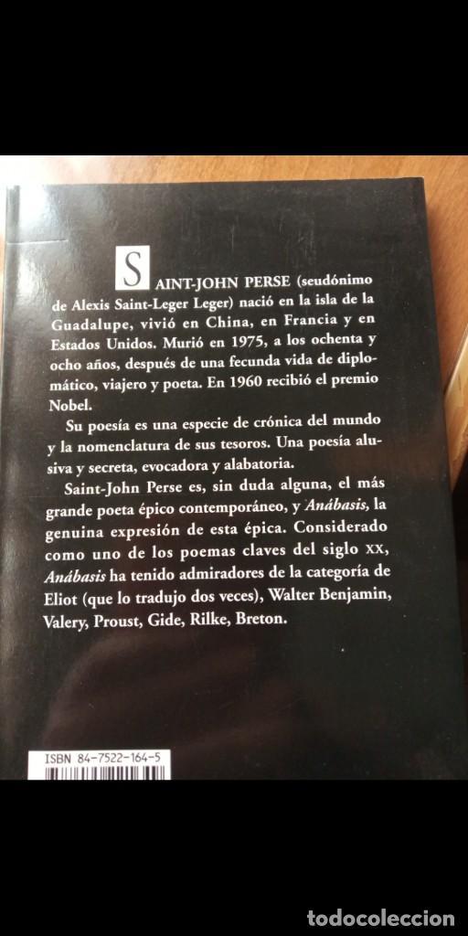 Libros: Anabasis. Saint-John Perse (visor) - Foto 2 - 255437935