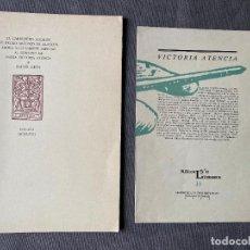 Libros: MARIA VICTORIA ATENCIA Y RAFAEL LEON , MÁLAGA , DEDICATORIA MANUSCRITA ,. Lote 257623685
