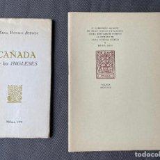 Libros: MARIA VICTORIA ATENCIA Y RAFAEL LEON , MÁLAGA , CAÑADA DE LOS INGLESES ,. Lote 275035898