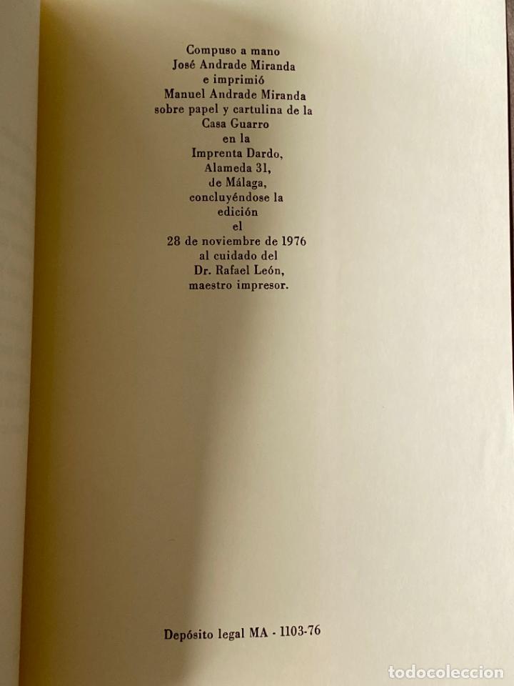 Libros: MARIA VICTORIA ATENCIA , LOS SUEÑOS , MÁLAGA 1976 , POESIA , DEDICATORIA MANUSCRITA - Foto 2 - 257631305