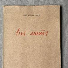 Libros: MARIA VICTORIA ATENCIA , LOS SUEÑOS , MÁLAGA 1976 , POESIA , DEDICATORIA MANUSCRITA. Lote 257631305