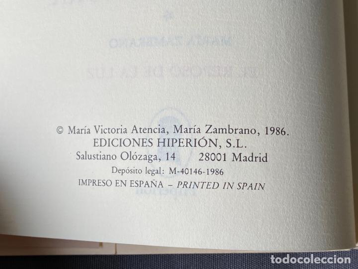 Libros: MARIA VICTORIA ATENCIA , TRANCES DE NUESTRA SEÑORA , POESIA , 1986 , DEDICATORIA MANUSCRITA - Foto 5 - 257633155