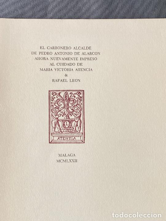 Libros: RAFAEL LEON , MARIA VICTORIA ATENCIA , POESIA MALAGUEÑA CONTEMPORANEA , LOTE DE 3 LIBROS - Foto 5 - 257635870