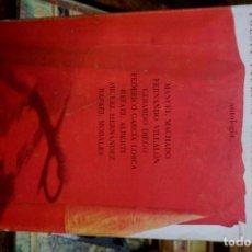 Libros: POESIA TAURINA CONTEMPORANEA(ANTOLOGIA).SEL., Y PROLOGO DE RAFAEL MONTESINOS.ED. RM.. Lote 261543820