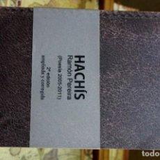 Libros: PEREIRA RAMON.HACHIS(POESIA 2005-2011).2ª ED. AMPLIADA Y CORREGIDA.. Lote 261545010