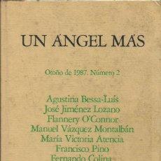 Libros: UN ÁNGEL MÁS / REVISTA DE LITERATURA. Nº 2.. Lote 262254240