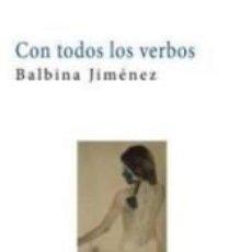 Libros: CON TODOS LOS VERBOS. Lote 262891270