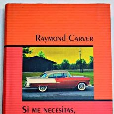 Libros: SI ME NECESITAS, LLAMAME RAYMOND CARVER. Lote 266148768