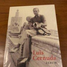 Libros: LUIS CERNUDA. ALBUM. ED. RESIDENCIA DE ESTUDIANTES.. Lote 268949979