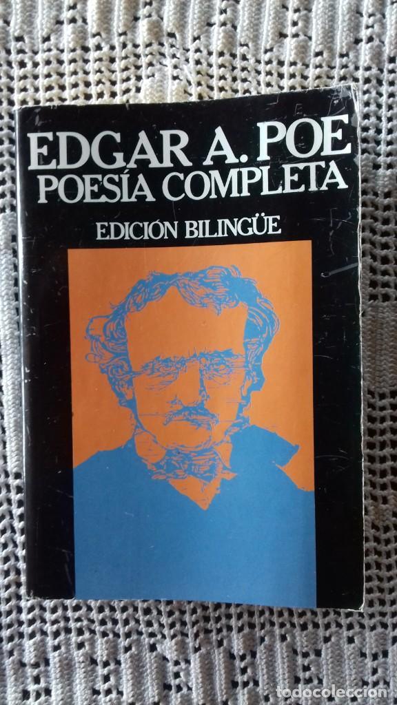 EDGAR ALLAN POE. POESÍA COMPLETA. EDICIÓN BILINGÜE. EDICIONES 29. 1989. (Libros Nuevos - Literatura - Poesía)