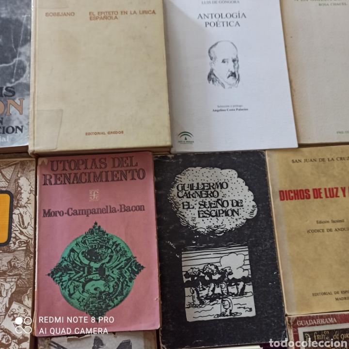 Libros: POESÍA, LOTE 16 UNIDADES, QUEVEDO, GÓNGORA, SA JUAN DE LA CRUZ.... - Foto 3 - 269203423