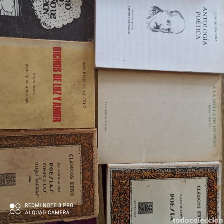 Libros: POESÍA, LOTE 16 UNIDADES, QUEVEDO, GÓNGORA, SA JUAN DE LA CRUZ.... - Foto 6 - 269203423