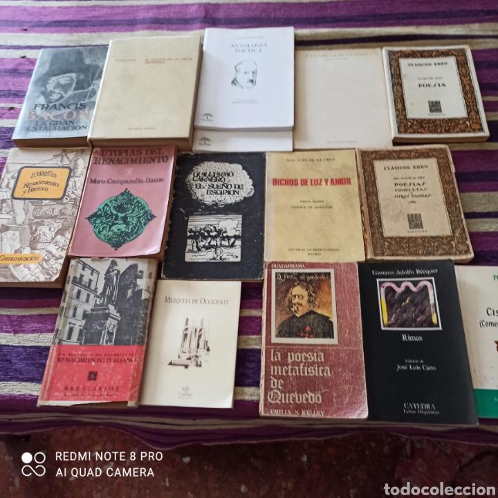Libros: POESÍA, LOTE 16 UNIDADES, QUEVEDO, GÓNGORA, SA JUAN DE LA CRUZ.... - Foto 2 - 269203423