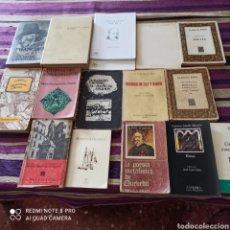 Libros: POESÍA, LOTE 16 UNIDADES, QUEVEDO, GÓNGORA, SA JUAN DE LA CRUZ..... Lote 269203423