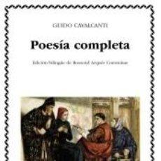 Libros: POESÍA COMPLETA. Lote 269449053