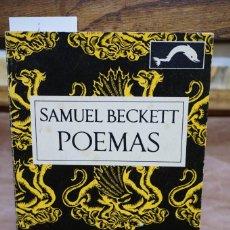 Libros: BECKETT SAMUEL. POEMAS. Lote 269576058