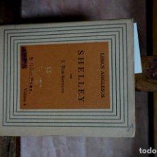 Libros: ROS-ARTIGUES J. SHELLEY.. Lote 271849258