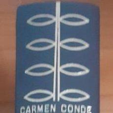 Libros: CARMEN CONDE OBRA POÉTICA COMPLETA 1929/66. -TAPAS PIEL EDITORIAL - MADRID 1967- OFERTA LIQUIDACION. Lote 275141298