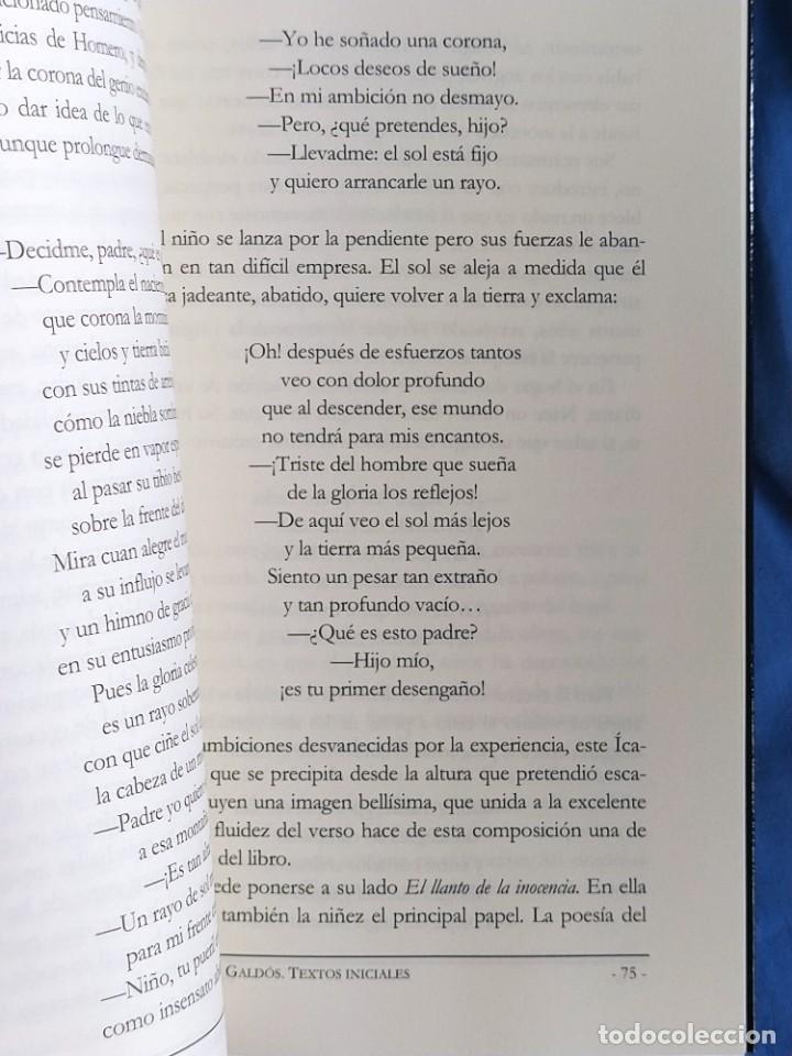 Libros: libro Benito Perez Galdos textos iniciales - Foto 2 - 276394353