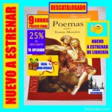 Libros: POEMAS - TOMÁS MORALES - POESÍA CANARIA - INTERSEPTEM - DESCATALOGADO - NUEVO - 9 € FINAL. Lote 276706318